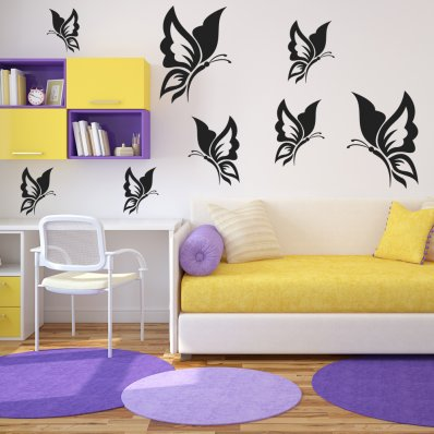 Wallstickers Folies Macaroons Dishwasher Cover Panels