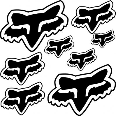 Wallstickers Folies Kymco Decal Stickers Kit