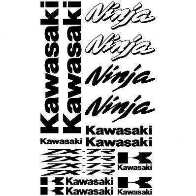Wallstickers Folies Kawasaki Gpz 500s Decal Stickers Kit