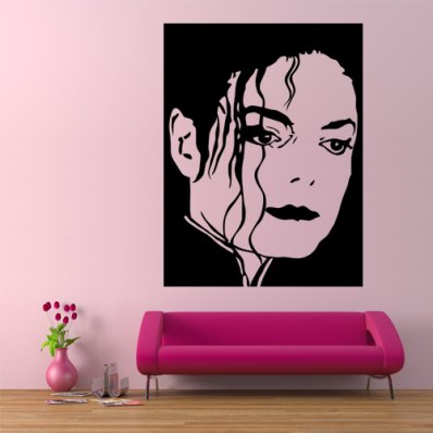 wallstickers folies other michael jackson