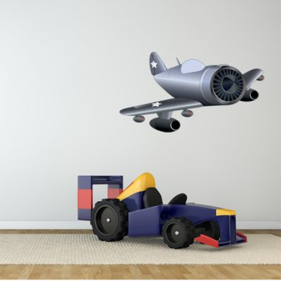 wallstickers folies planes