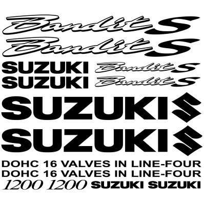 Suzuki 1200 Bandit S Decal