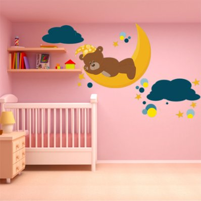 wallstickers folies teddy bears fun4walls teddy bear wall decal wayfair