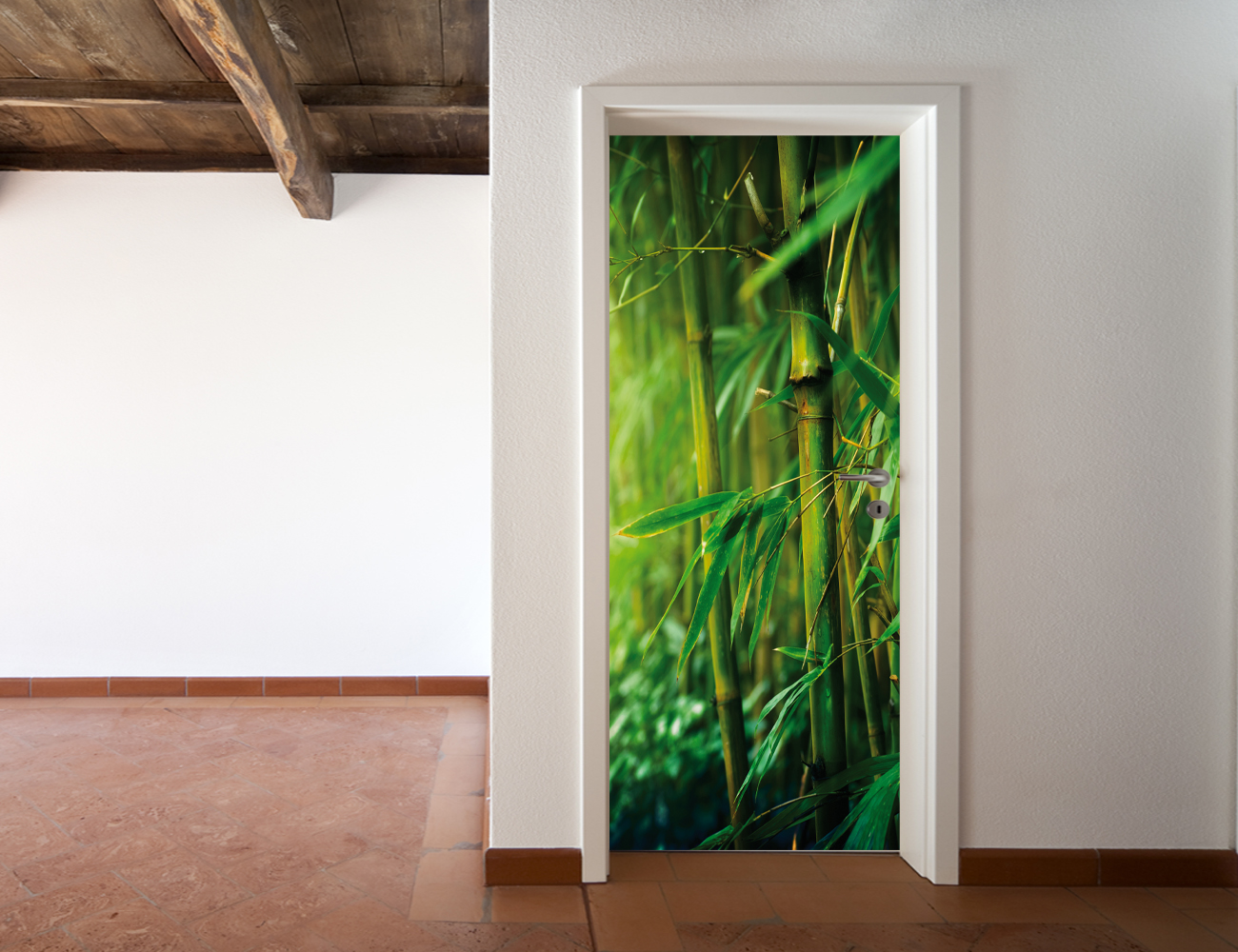 Wallstickers Folies Bamboo Door Stickers