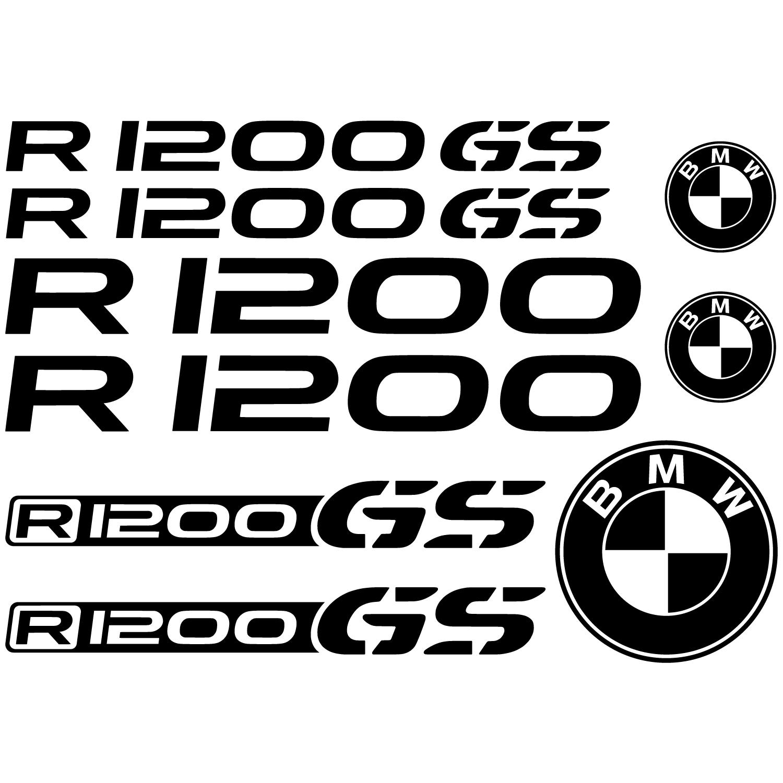 Bmw r 1200gs decal stickers kit