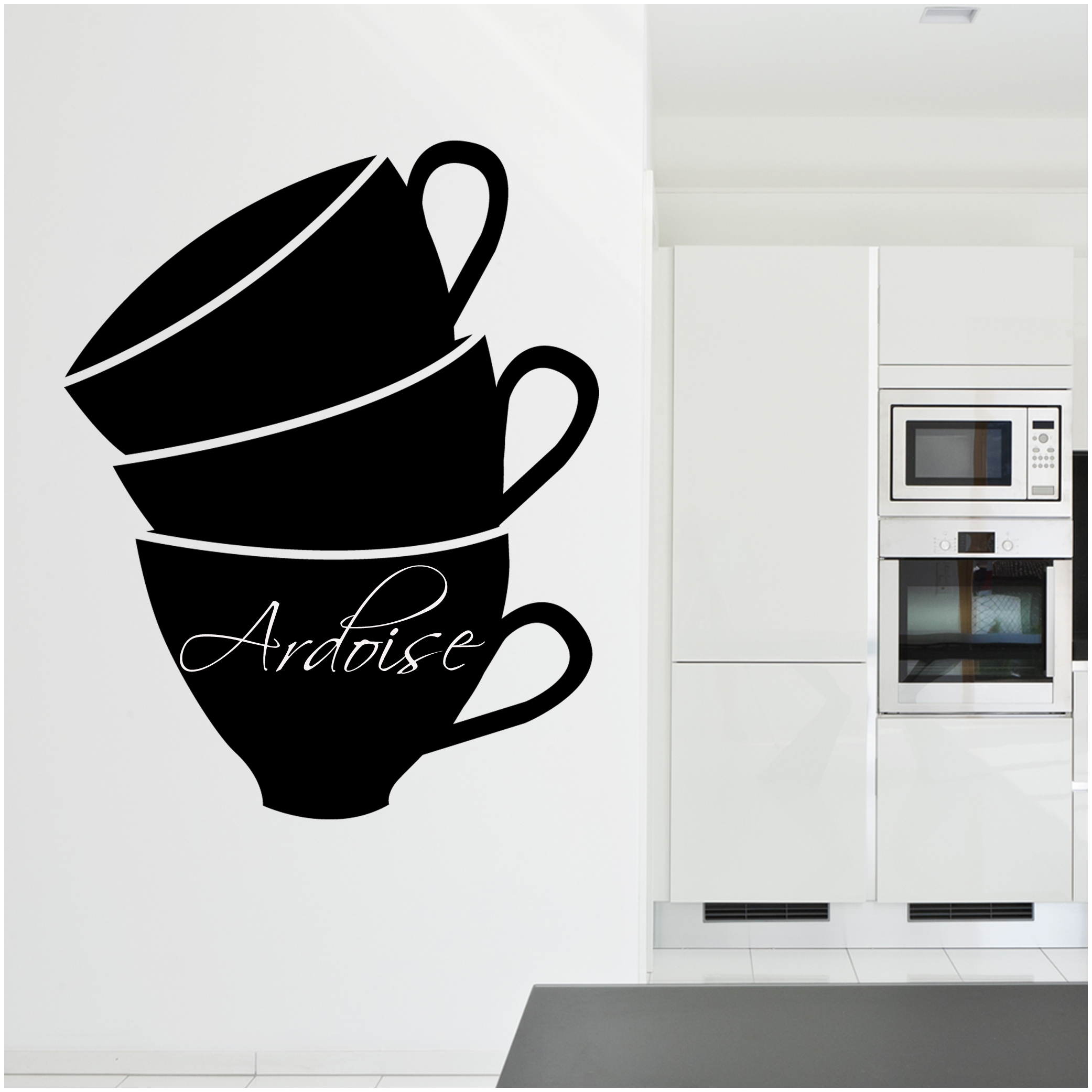 Wallstickers folies coffee cup chalkboard blackboard wall coffee cup chalkboard blackboard wall stickers amipublicfo Images