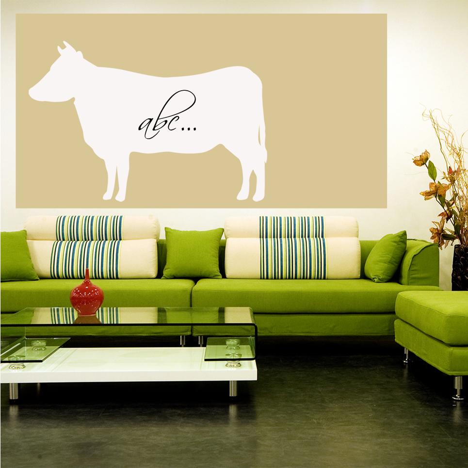 wallstickers folies cow whiteboard wall stickers whiteboard wall sticker magnetic whiteboard material