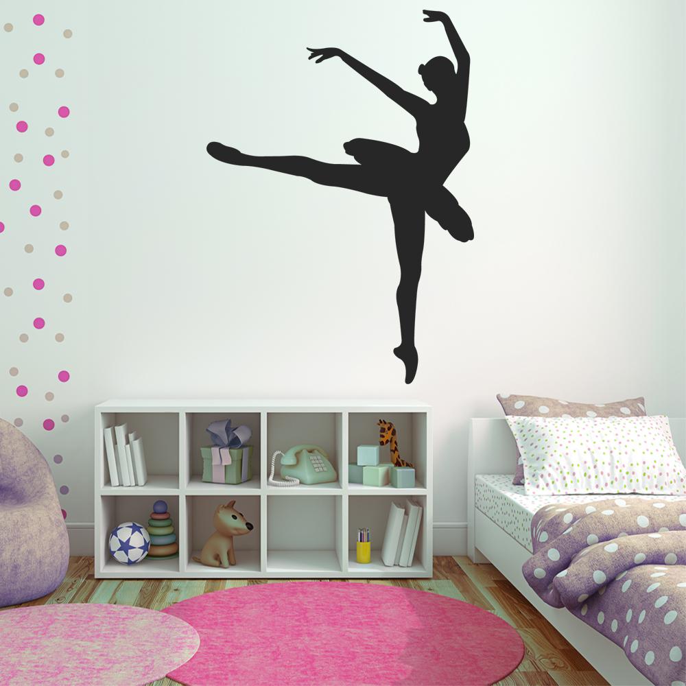 wallstickers folies dancer wall stickers aliexpress com buy dance wall decal sport quote studio