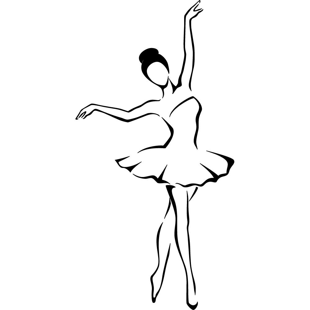поговорила картинка балерина черно белая картинка был укрыт