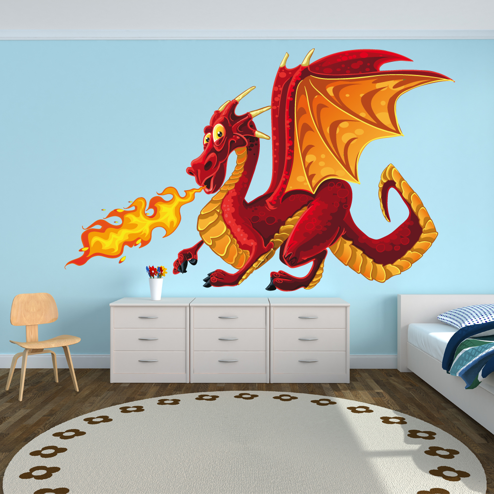 Wallstickers folies : Dragon Wall Stickers