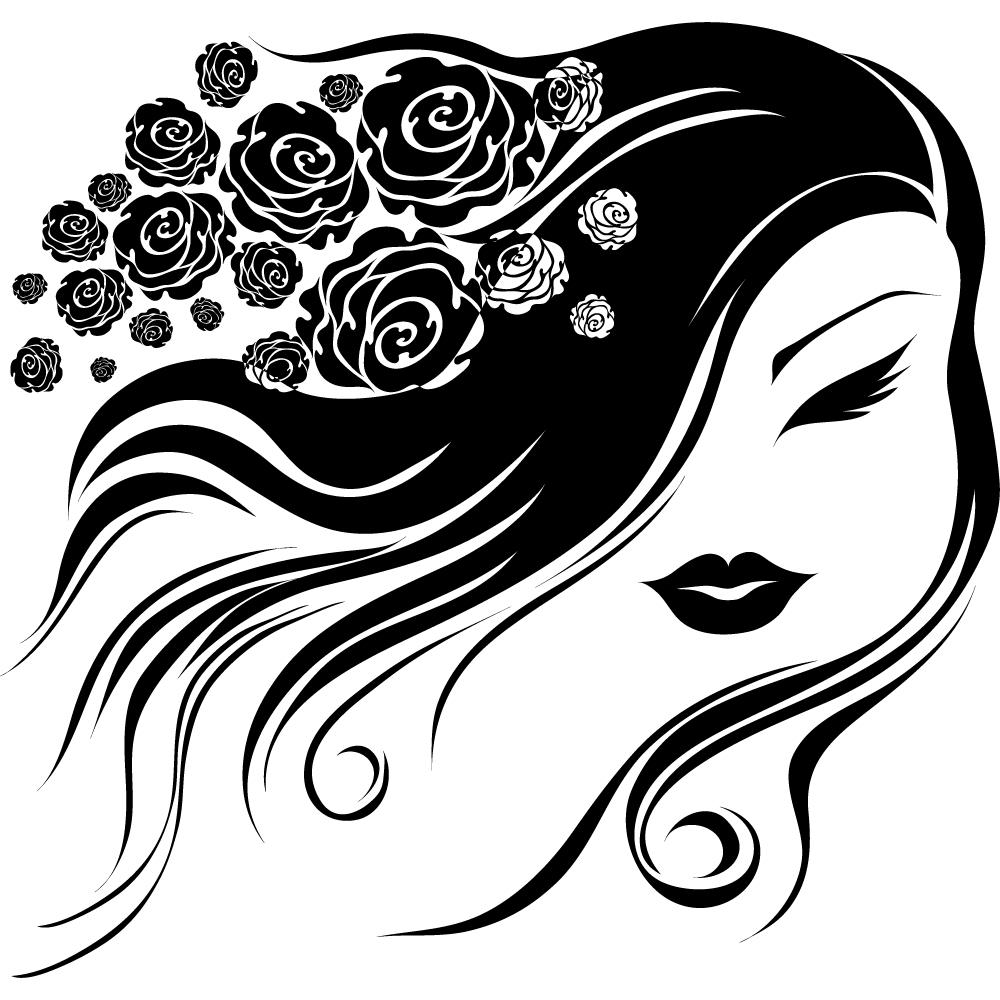 Картинки для парикмахера в векторе