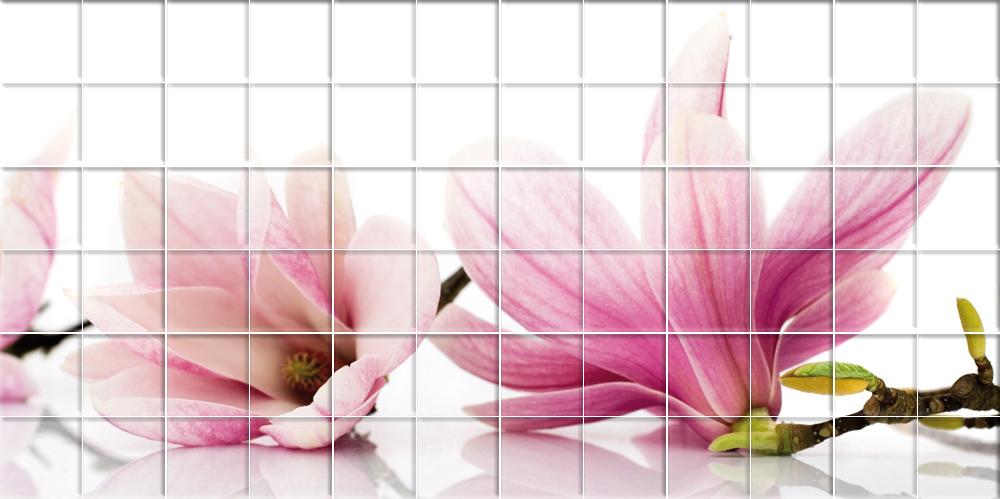 Wallstickers Folies Flowers Tiles Wall Stickers
