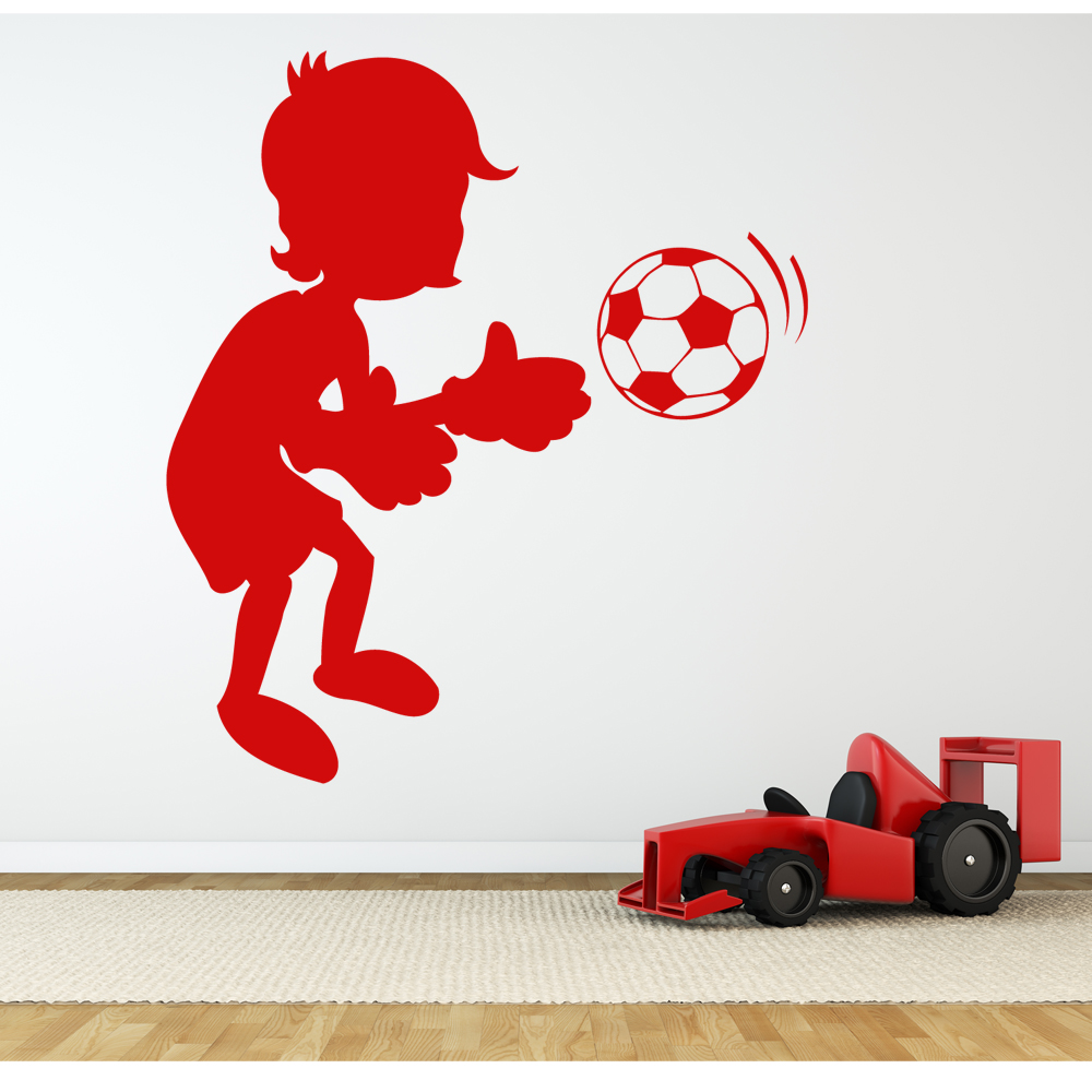 wallstickers folies football wall stickers sports and football wall decals wall decal figure