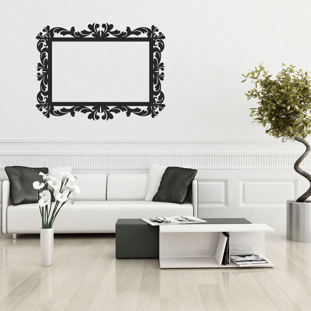 wallstickers folies frame wall stickers