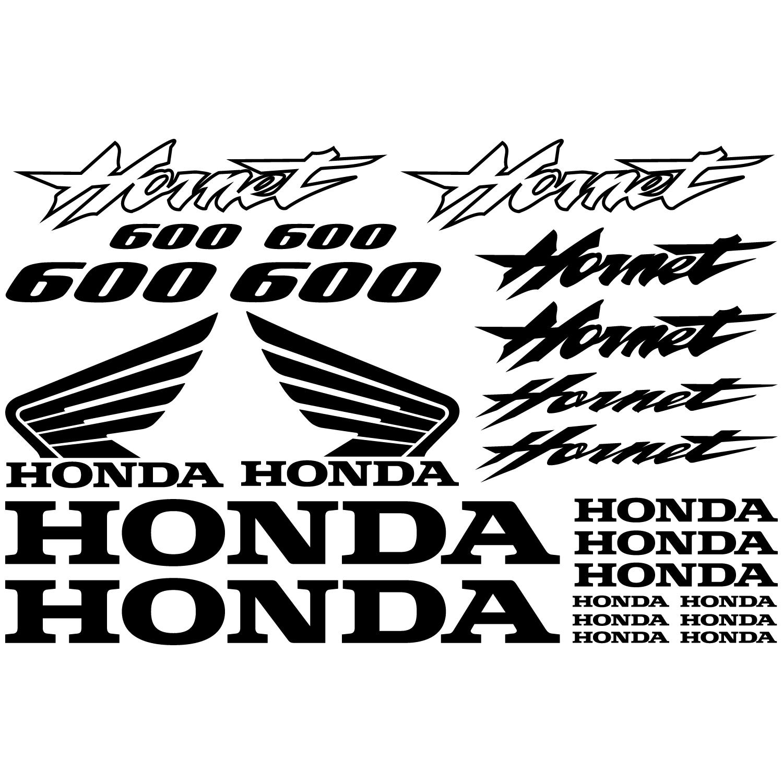Wallstickers Folies Honda Hornet 600 Decal Stickers Kit