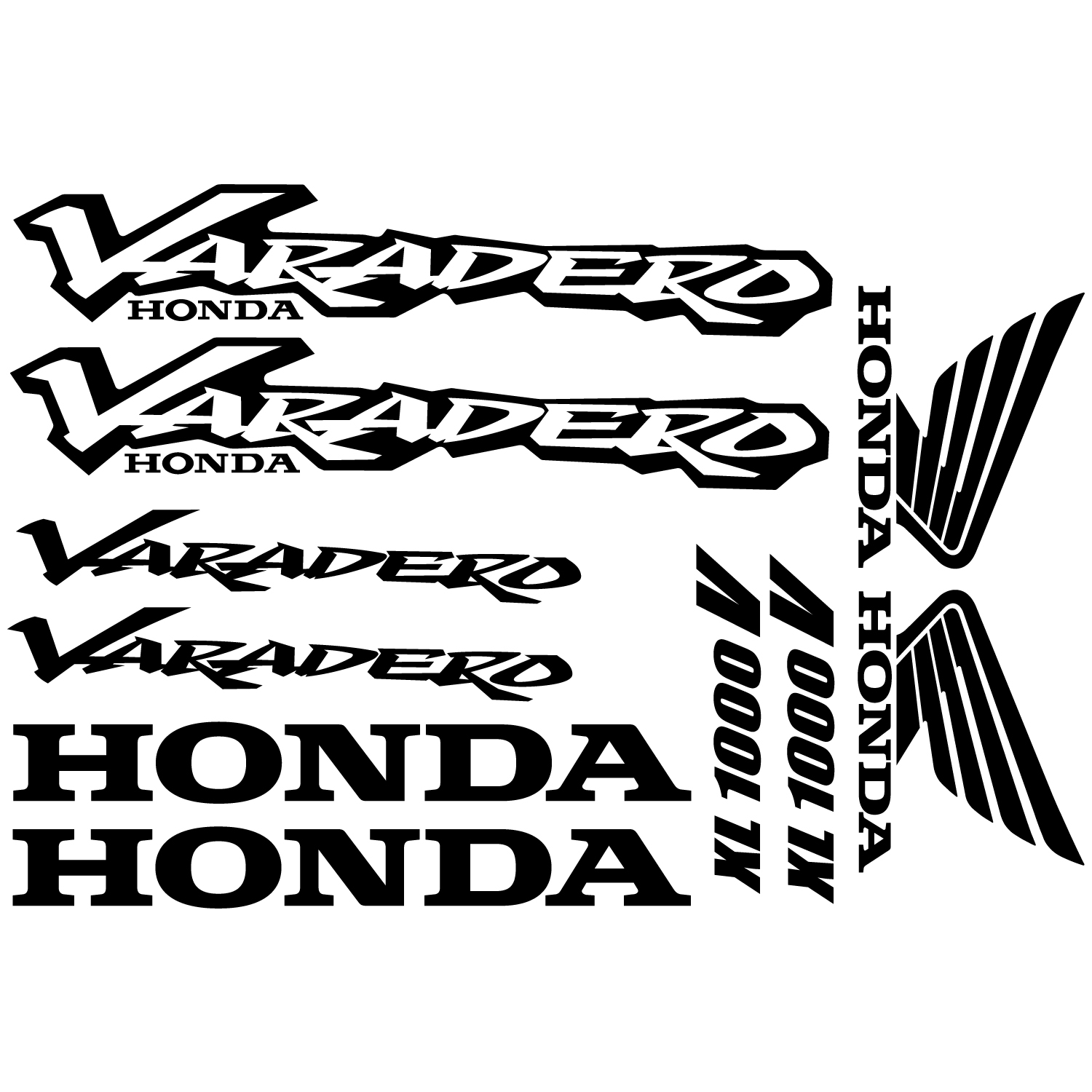 wallstickers folies   honda varadero xl 1000v decal