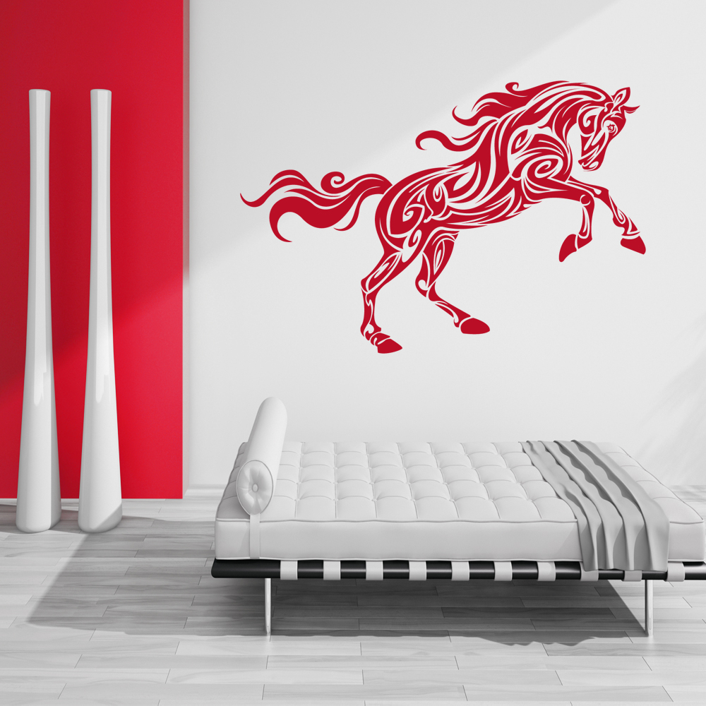 wallstickers folies horse wall stickers