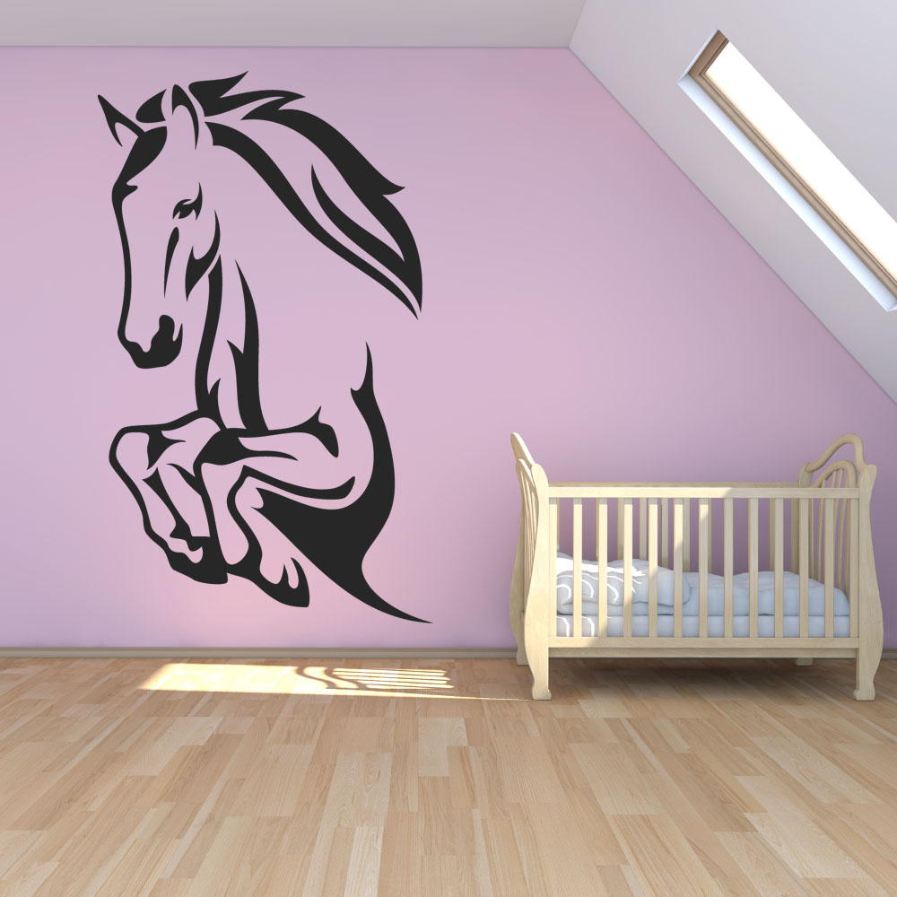 wallstickers folies horse wall stickers horse silhouette wall sticker wall stickers