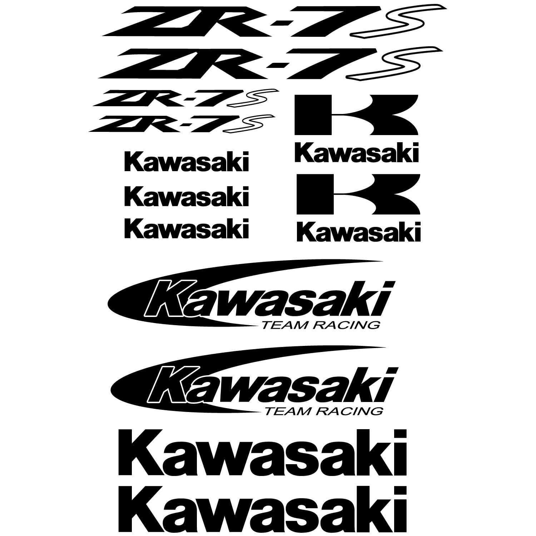 Wallstickers Folies Kawasaki Zr 7s Decal Stickers Kit