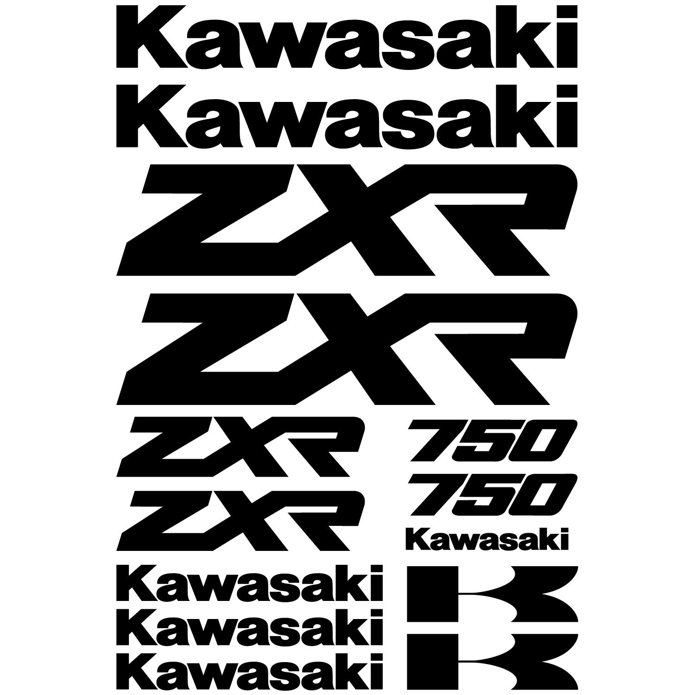 Kawasaki Zxr Decal Kit