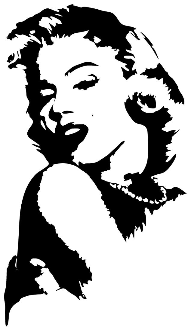Marilyn Monroe Wall Stickers