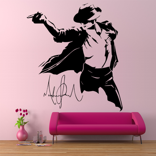 Michael Jackson Wall Stickers Part 33