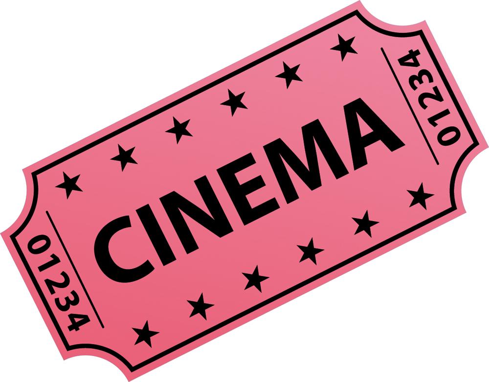Wallstickers folies : Movie Ticket Wall Stickers