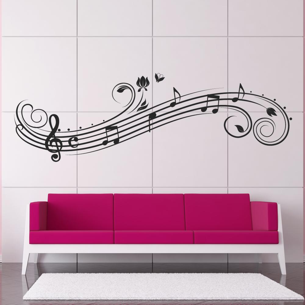 Wallstickers folies musical notes wall stickers musical notes wall stickers amipublicfo Gallery