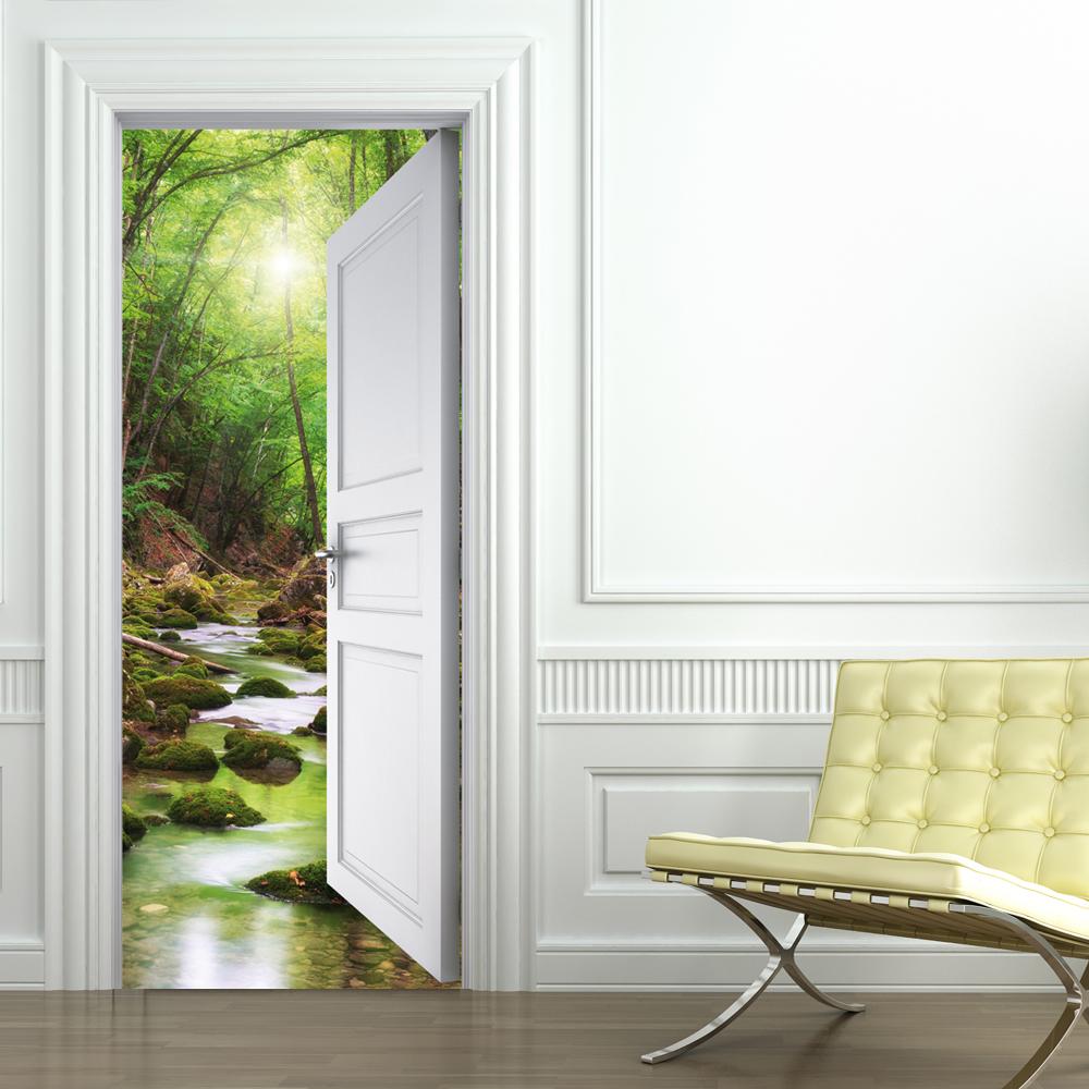 Wallstickers Folies Nature Door Stickers