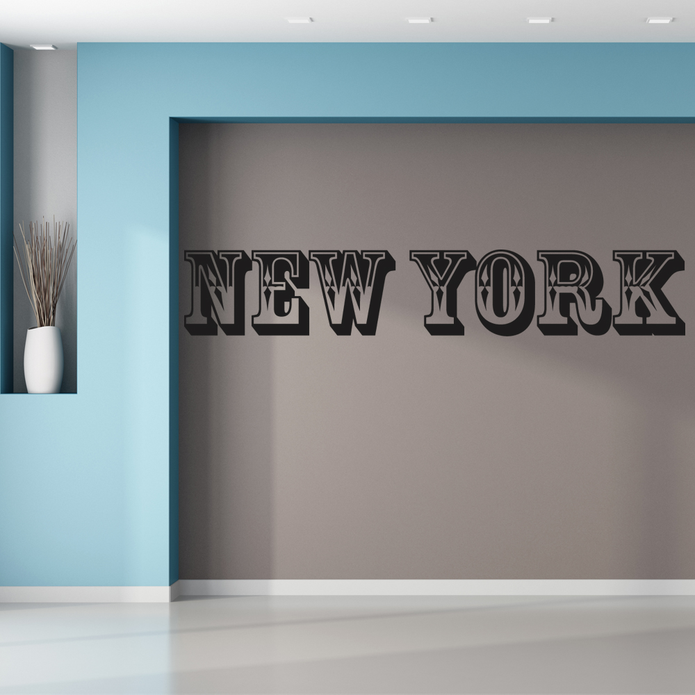 wallstickers folies new york wall stickers new york wall sticker wall stickers
