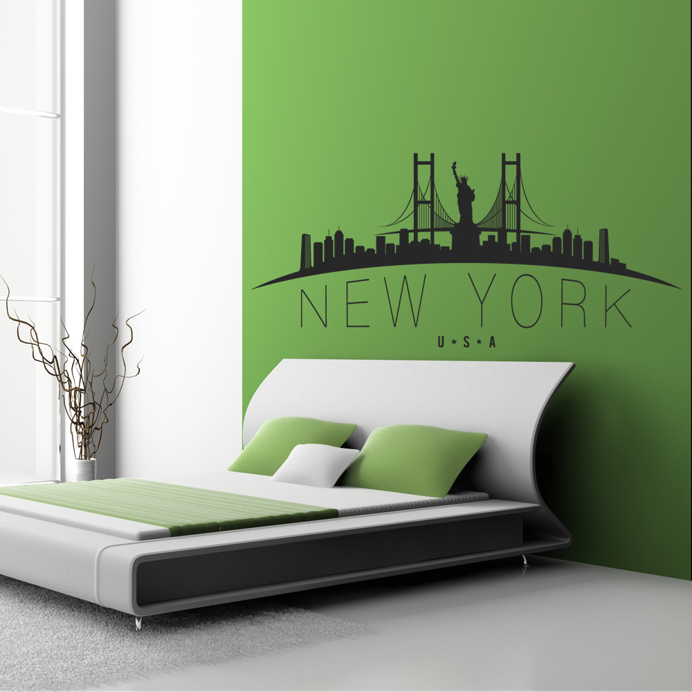 New York Wall Stickers Part 93