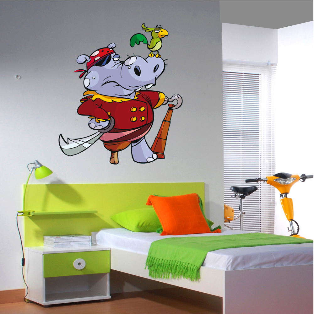 Wallstickers Folies Pirate Wall Stickers