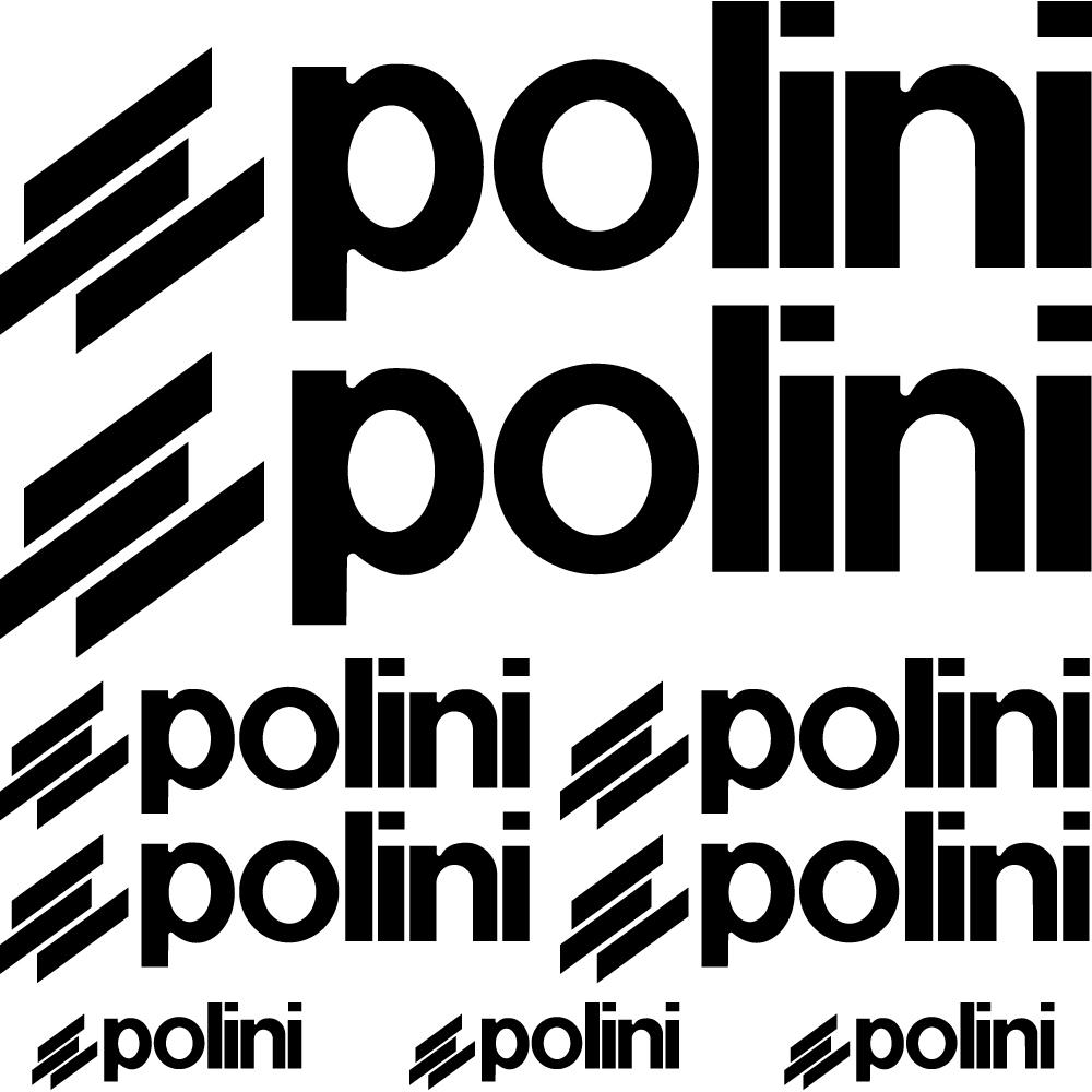 Wallstickers Folies Polini Decal Stickers Kit