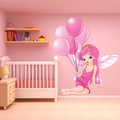 wallstickers folies princess wall stickers. Black Bedroom Furniture Sets. Home Design Ideas