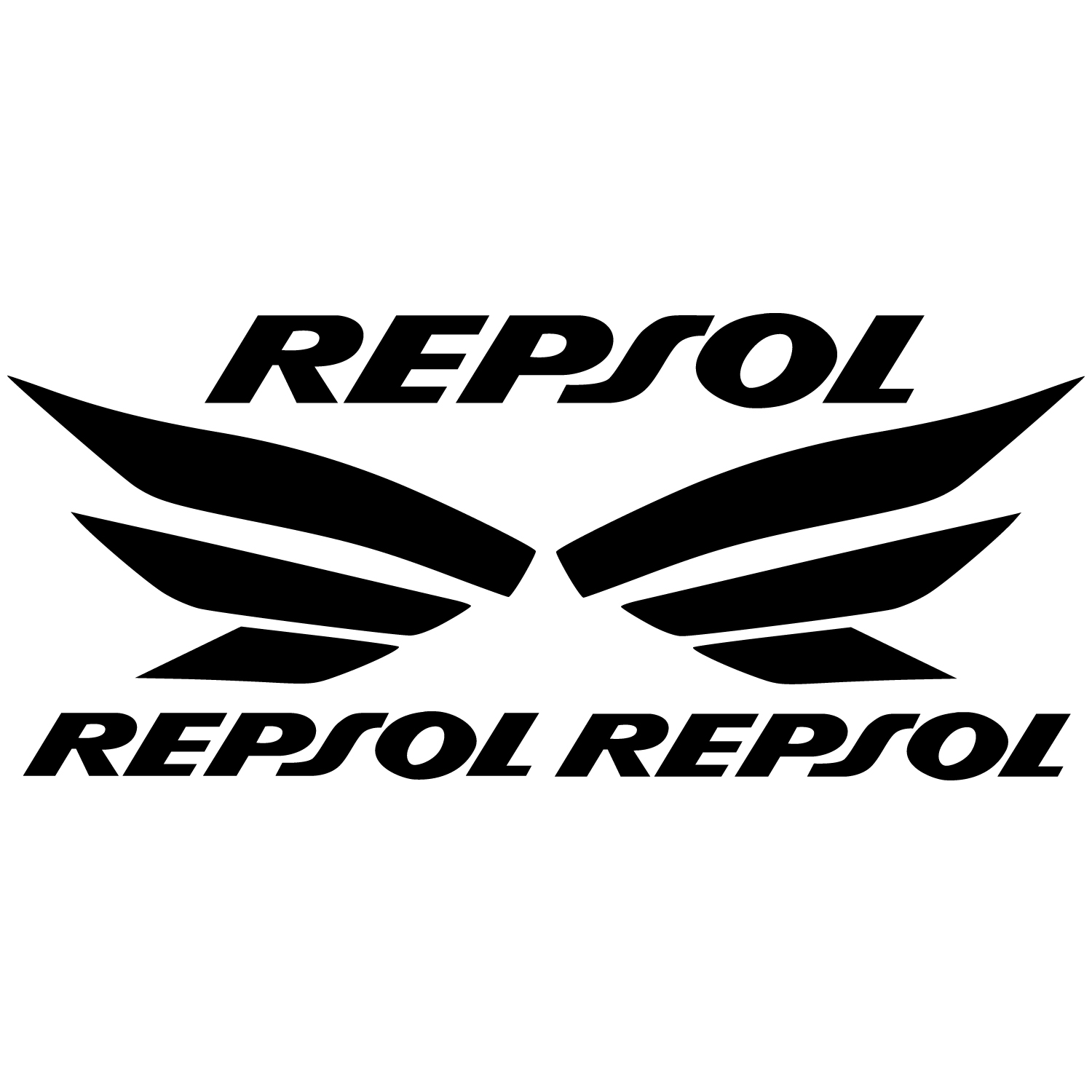 wallstickers folies repsol decal stickers kit. Black Bedroom Furniture Sets. Home Design Ideas