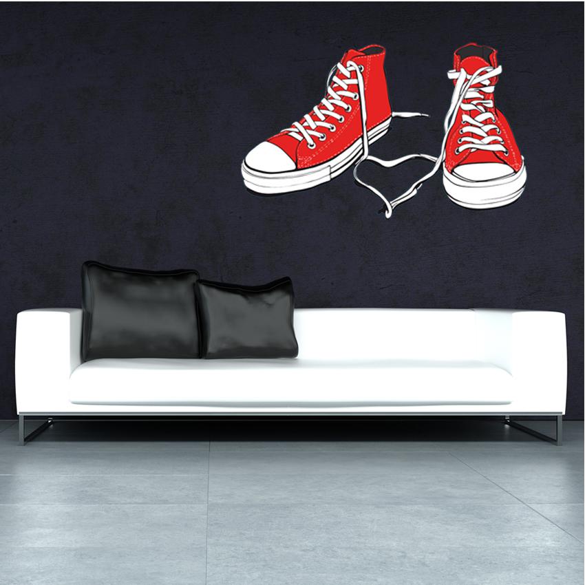 Wallstickers Folies : Shoe Wall Stickers