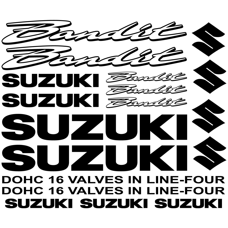 Suzuki Bandit Decal Stickers Kit