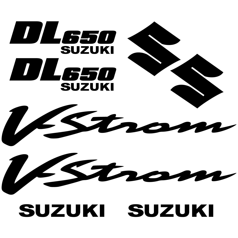 Suzuki V Strom Decals