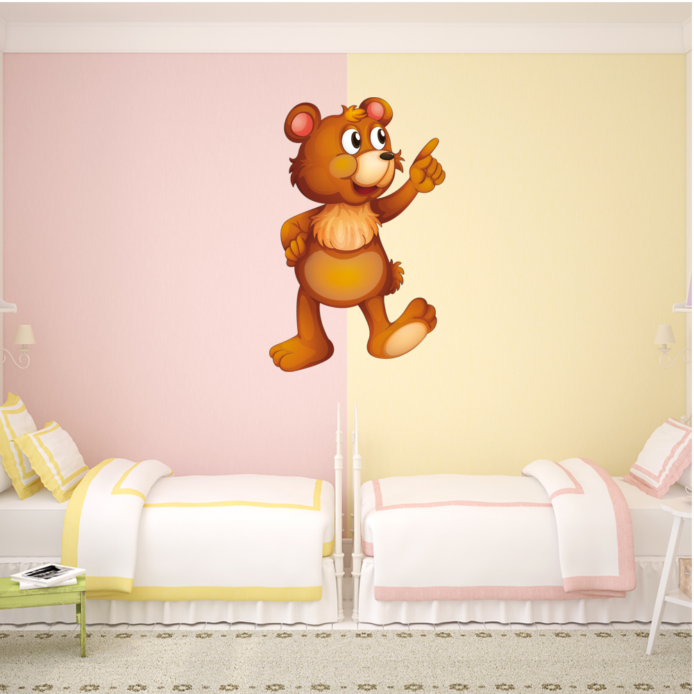 Old Fashioned Teddy Bear Wall Art Component - The Wall Art ...