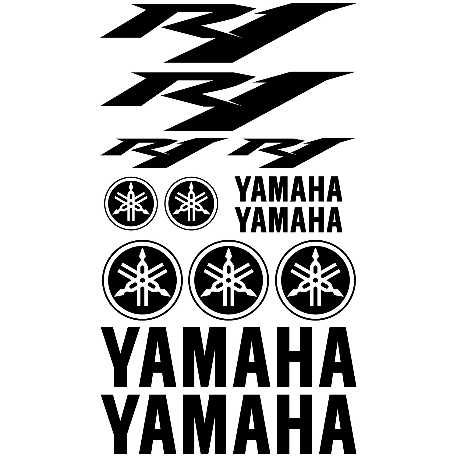 Yamaha Decal Kit