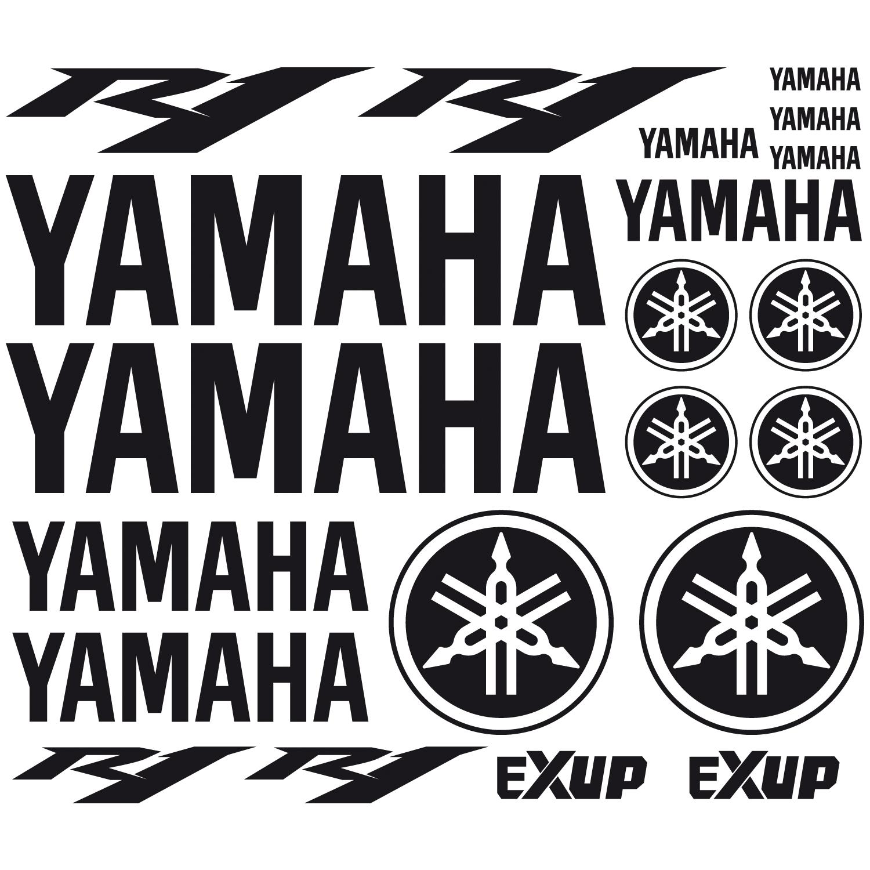Stickers R1 Yamaha 12cm x 2cm
