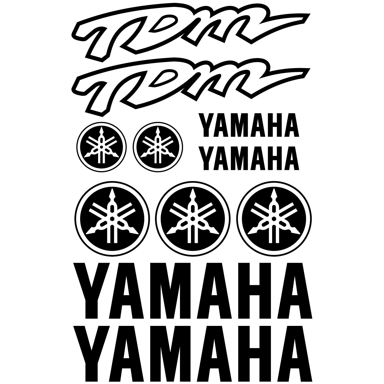 Wallstickers Folies Yamaha Tdm Decal Stickers Kit