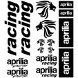 aprilia racing Decal Stickers kit