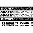 Ducati 1198r Decal Stickers kit