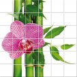 Flower - Tiles Wall Stickers