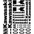 Kawasaki Z 1000 Decal Stickers kit
