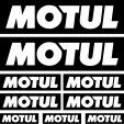 motul Decal Stickers kit