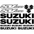 Suzuki SV650 Decal Stickers kit