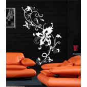 Baroque Flower Wall Stickers