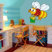 Bee Wall Stickers